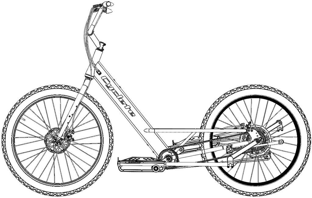 Cyclete 2021 Drawing