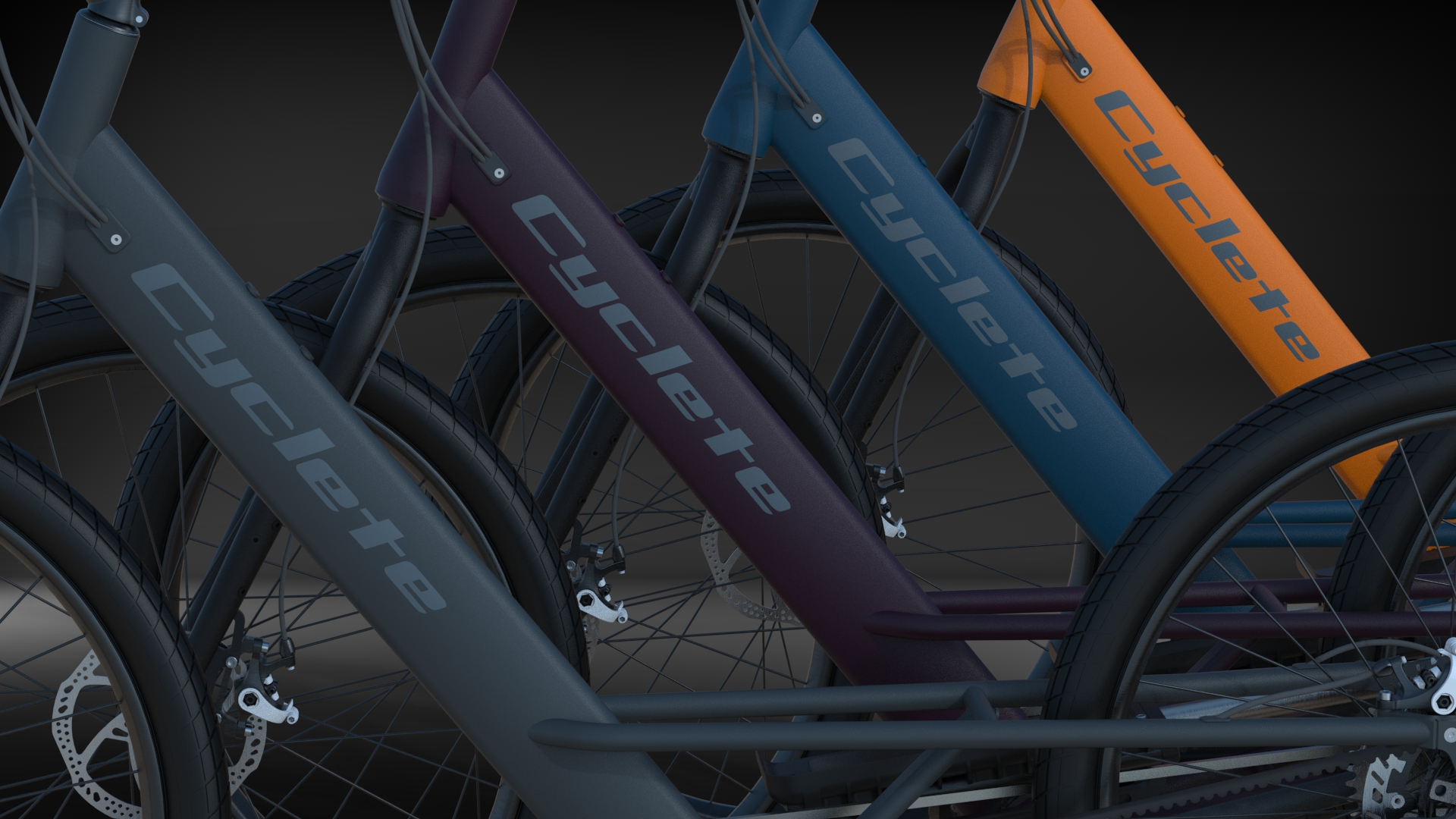 Choose from 4 Cyclete Colors